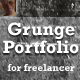 The Freelancer - Premum Grunge Portfolio 2 in 1 - ThemeForest Item for Sale