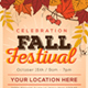 Fall Festival Flyer Template-Graphicriver中文最全的素材分享平台