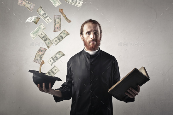 Image result for a rich priest