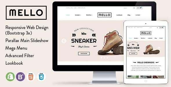 Melo - UK US Fashion Store Minimal Shopify Theme: Premium, Fast ...