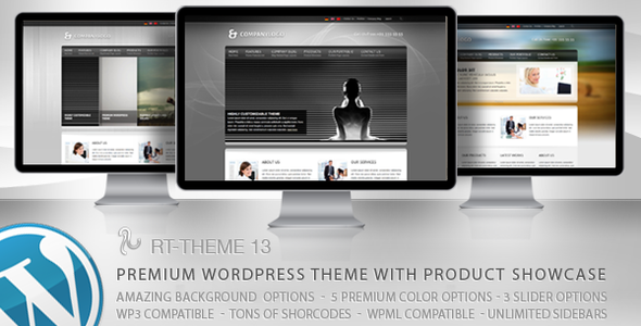 Multi-Purpose Premium WordPress Theme (Business) for Sale