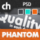 PHANTOM - Climatic &#38; Functional PSD Template - ThemeForest Item for Sale