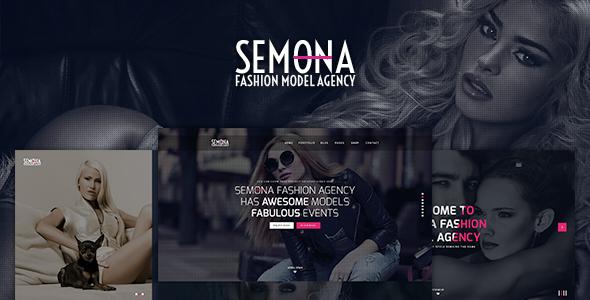 fashion semona creative joomla template by templaza themeforest