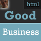 Good Business - Premium Clean Business Template