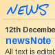newsNote - unlimited news items on note paper