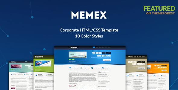 Memex business portfolio blog template by aivahthemes themeforest memex business portfolio blog template business corporate wajeb Images