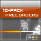 10-Pack Preloaders. 100% Code