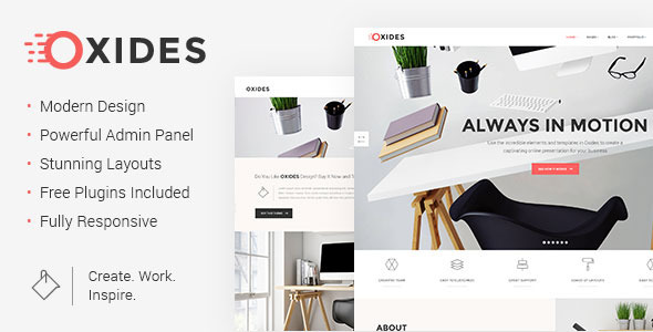 Oxides - A Creative Studio Theme for Entrepreneurs by Edge-Themes ...