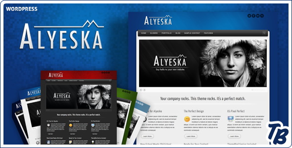 Alyeska Premium WordPress Theme (Business) for Sale