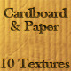 10 Tileable Cardboard & Paper Texture Patterns