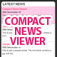 Compact News Viewer - HTML, CSS, XML