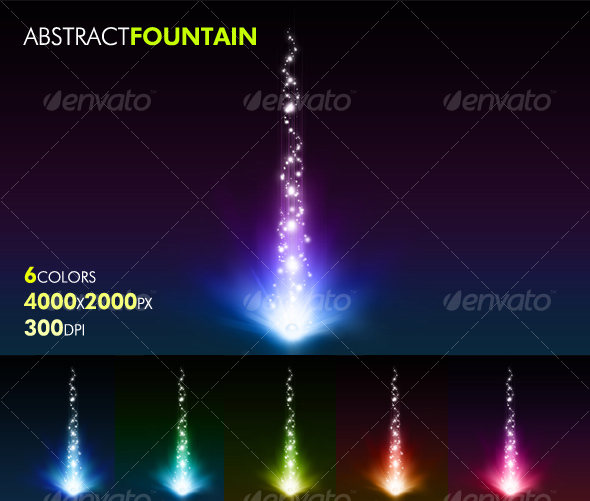 Abstract Fountain | From : graphicriver.net