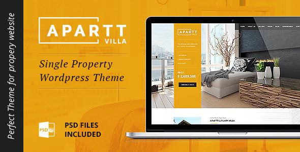 real estate website themes wordpress