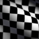 CHECKERED RACE CAR FLAG LOOP 