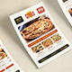 Pizza/Restaurant Menu/Flyer-Graphicriver中文最全的素材分享平台