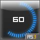 Circular Line Preloader. 100% Code.