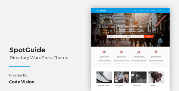 SpotGuide - High Performance Directory WordPress Theme by ...