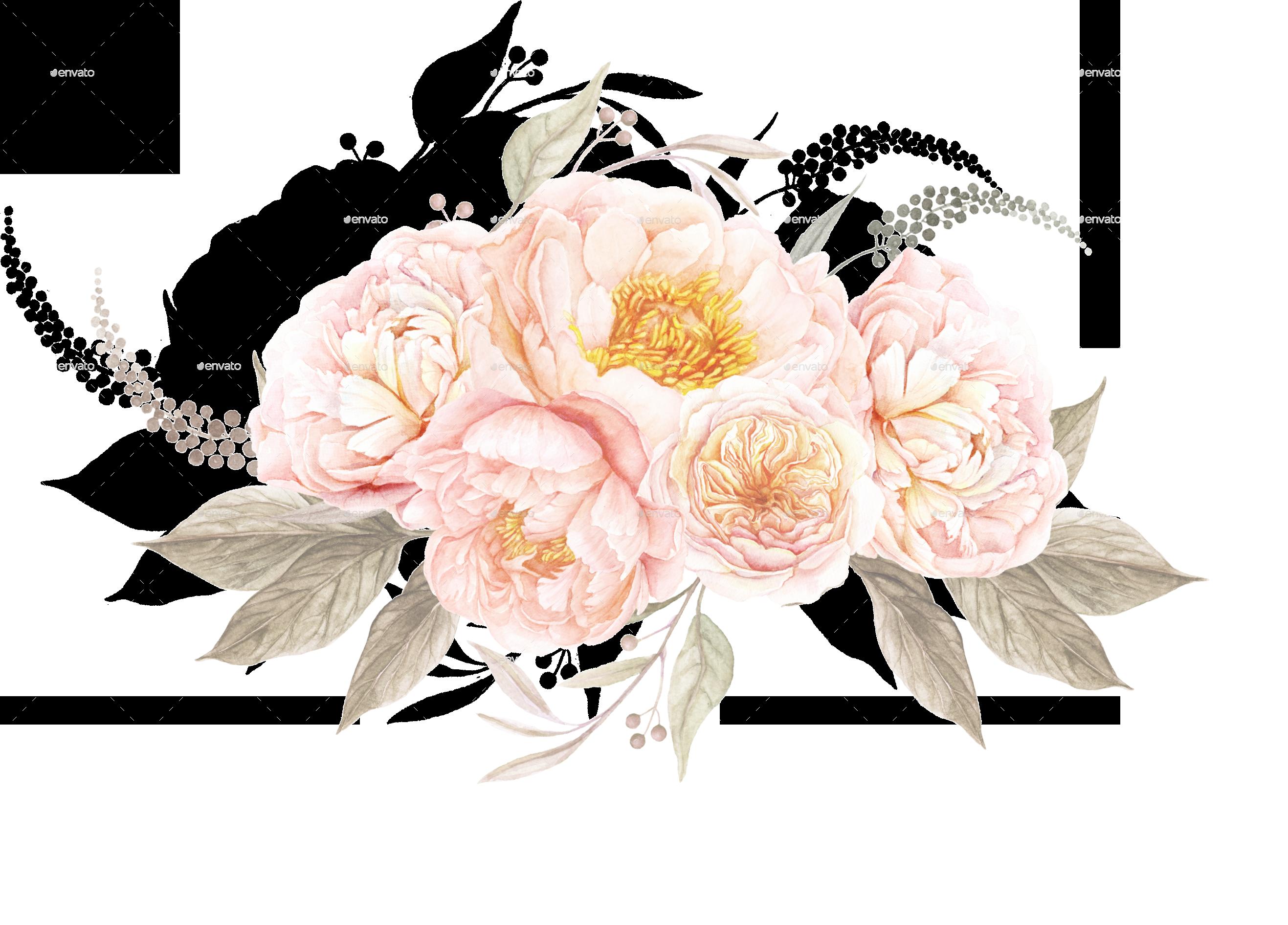 Винтаж цветы