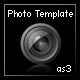 photographer's portfolio template (as3, xml)
