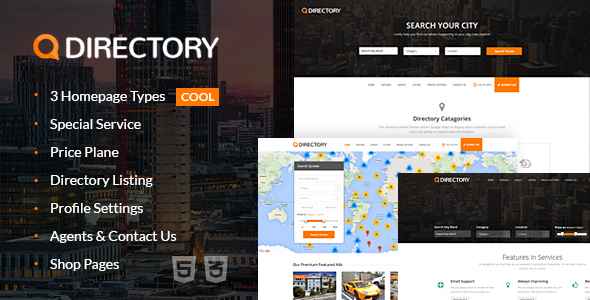 Directory Multi Purpose Html Template by eyecix | ThemeForest