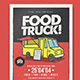 Food Truck Flyer-Graphicriver中文最全的素材分享平台