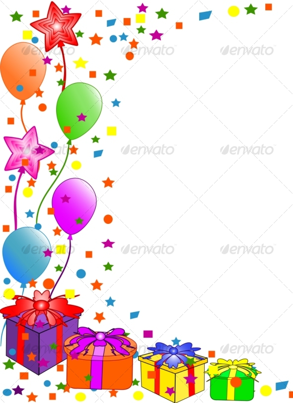 Happy Birthday background. by trinochka. Vector art in Adobe illustrator EPS