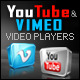 VIMEO/FLV/YouTube Video Player With Playlist