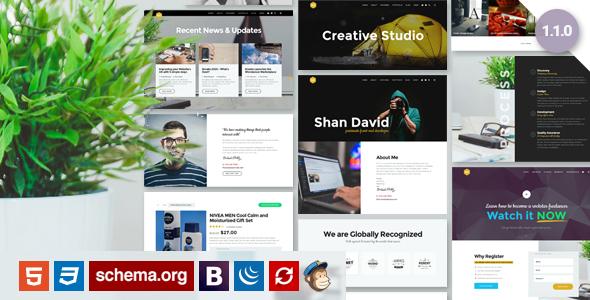 UX - Creative Portfolio Template by uipro | ThemeForest