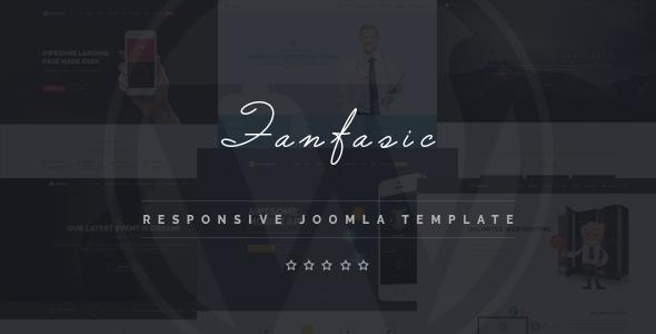 Fantasic - Multipurpose Joomla Landing Page Template by power-boosts