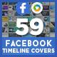 Mega Facebook Timeline Cove-Graphicriver中文最全的素材分享平台