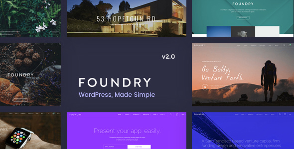 Foundry - Multipurpose, Multi-Concept WP Theme by tommusrhodus ...