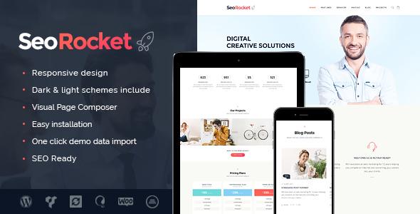 seo rocket seo marketing wordpress theme by themerex themeforest