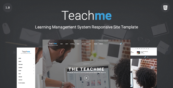 Teachme | Responsive Learning Management System, Education ...