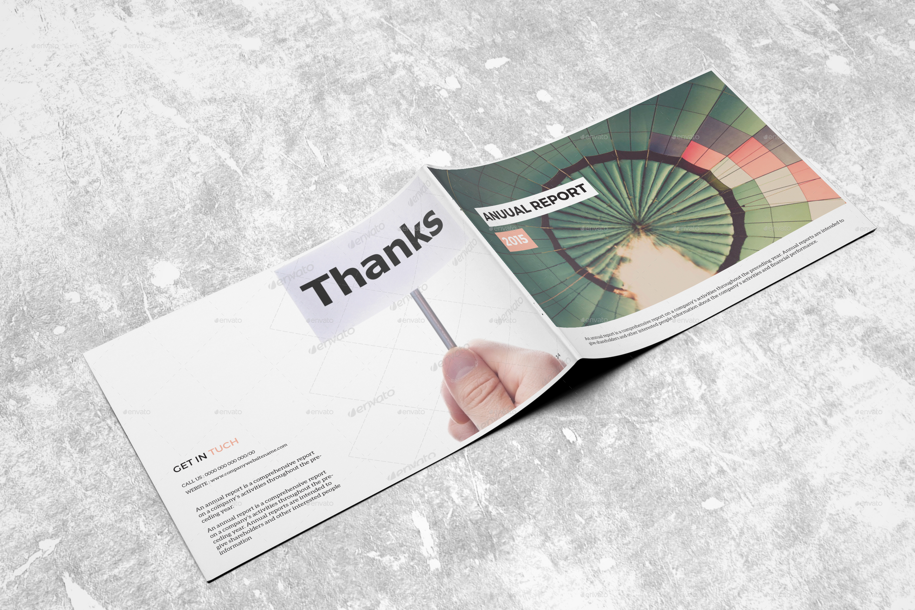32 InDesign Annual Report Templates For Corporate - oukas.info