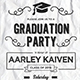 Doodle Graduation Invitatio-Graphicriver中文最全的素材分享平台
