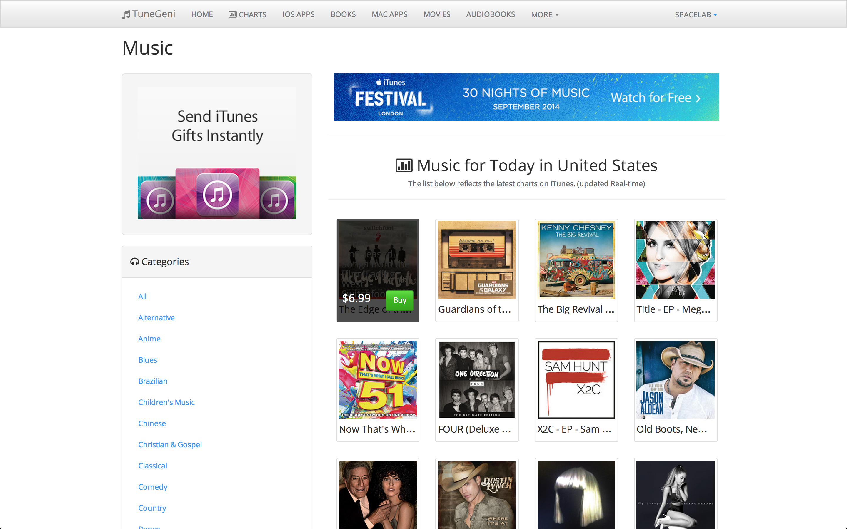 Itunes charts - cafenews info