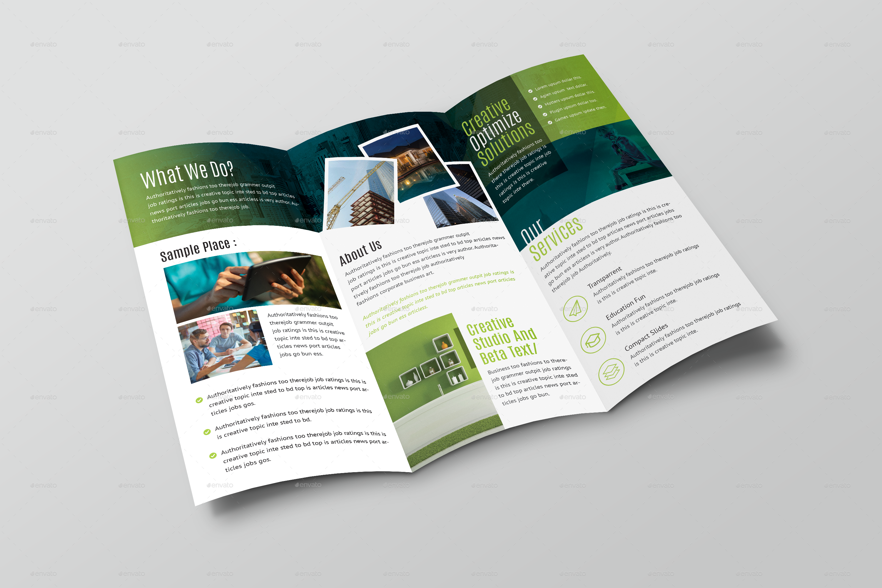 Brochure Templates For Powerpoint