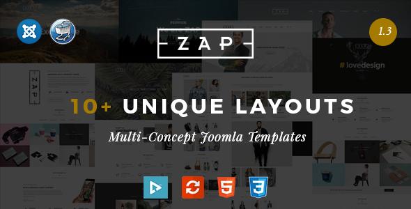 Zap - Multipurpose Responsive Virtuemart Joomla templates by nouthemes