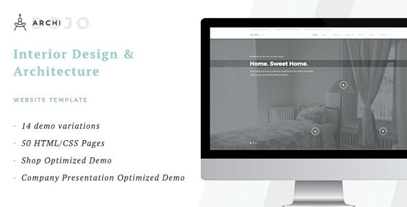 ArchiDojo Interior Design Architecture Theme by ThemesDojo