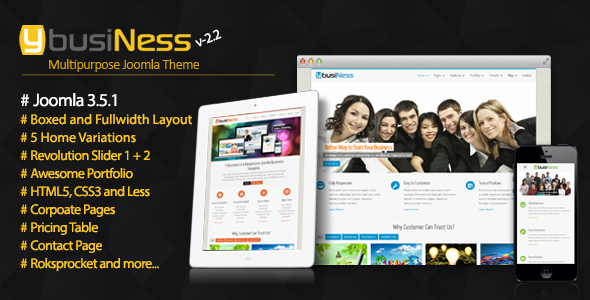 Ybusiness responsive joomla business template by tripples ybusiness responsive joomla business template corporate joomla cheaphphosting Image collections