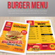 Menu Fast Food - Burger - T-Graphicriver中文最全的素材分享平台