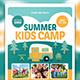Summer Kids Camp-Graphicriver中文最全的素材分享平台