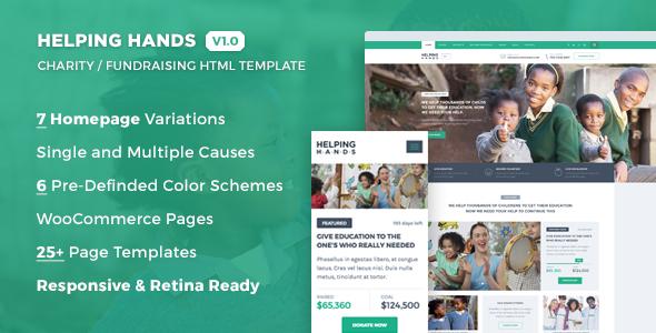 Helping hands charity nonprofit fund raising html template by helping hands charity nonprofit fund raising html template charity nonprofit maxwellsz