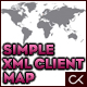 Simple & Flexible XML Client Map