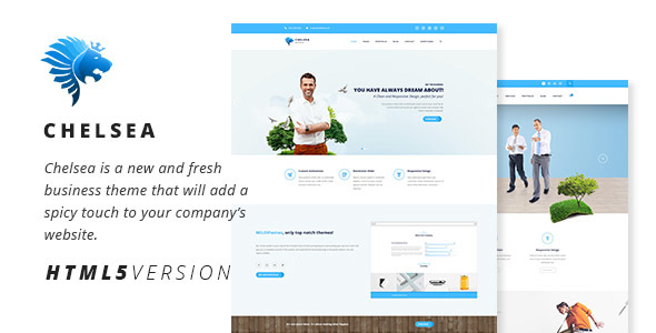 Chelsea multi purpose business html5 template by milothemes chelsea multi purpose business html5 template business corporate friedricerecipe Gallery