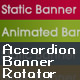 Accordion Banner Rotator