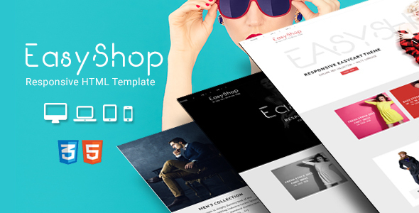 EasyShop - Fashion Shop HTML Site Template by CrunchPress | ThemeForest