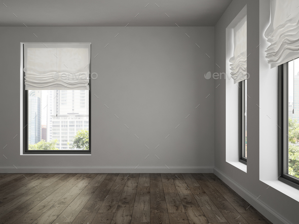 Interior of empty room 3d rendering stock photo by hemul75 for Room design 3d apk