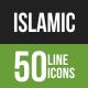 Islamic Line Green & Bl-Graphicriver中文最全的素材分享平台