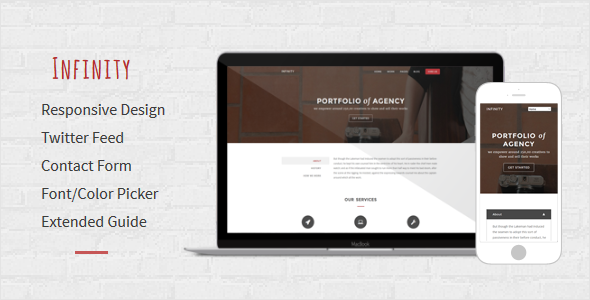 infinity multipurpose responsive blogger template by templateszoo
